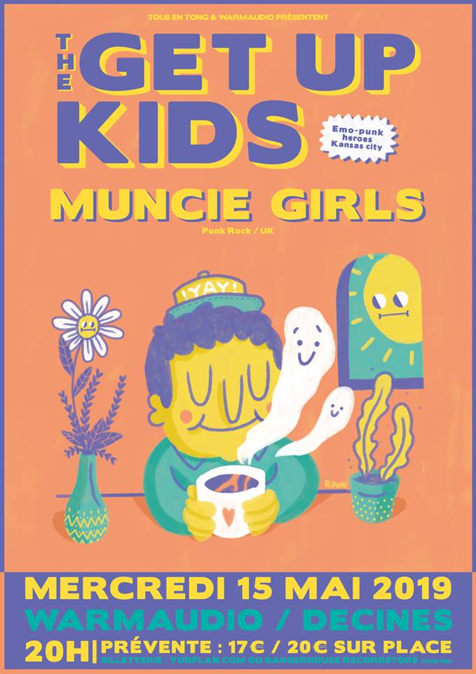 The Get Up Kids + Muncie Girls