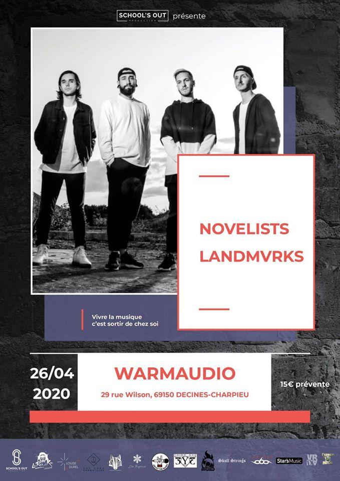 Novelist + Landmvrks + Guest
